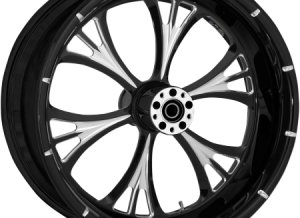 Wheel Rear Cross Country Black Majestic