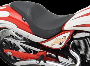 08101572 SMOOTH PREDATOR SEAT VICTORY MOTORCYCLE JACKPOT