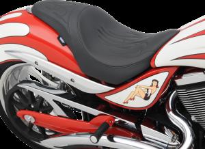 08101573 jackpot seat flame motorcycle