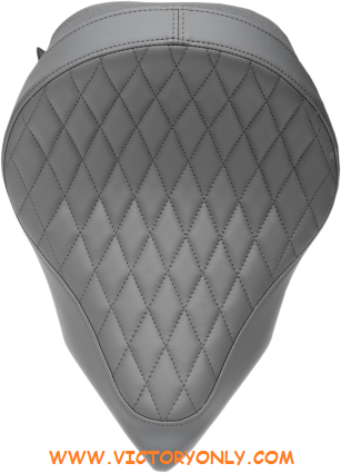 """BACKRESTNo COLORBlack FRONT DIMENSION13 1/2"""" W MADE IN THE U.S.A.Yes MATERIALSolar-Reflective Leather POSITIONFront SPECIFIC APPLICATION Yes STITCH Diamond STYLE Low Profile,Solo TYPE Seat"""