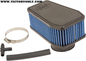 COLOR Black,Blue MADE IN THE U.S.A. Yes MATERIAL Cotton MODEL Stealth PACKAGING Each SPECIFIC APPLICATION Yes STYLE Performance Replacement TYPE Air Cleaner Kit