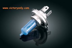 Super White H4 Headlamp Bulb, 65/55 Watt