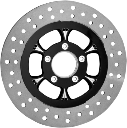 front brake rotor floating black victory motorcycle parts for Custom Cruiser Motorcycles we know you want your victory motorcycle to look it s best thats why for over