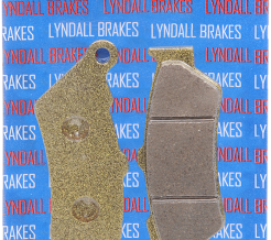 LYNDALL RACING REAR BRAKE PADS 2002 - 2008