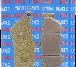 LYNDALL RACING REAR BRAKE PADS 2002 - 2008