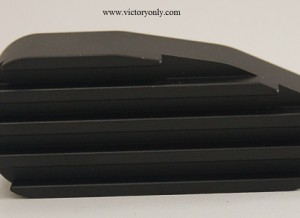 Easy Clutch Cover Black Finned