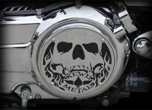 Victory Side Cover 3D Skull Victory Motorcycle Parts Accessories Aftermarket