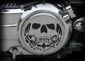 Victory Motorcycle Parts >> Engine Cover 3d Skull