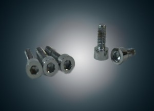 Gas Tank Lid Bolts - Chrome