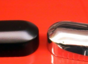 Axle Cover, Right Rear, Black