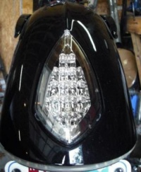 Tail light Chrome Victory Motorcycle Vegas Led Brake & Running