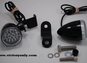 205 bracket black light led running lights victory motorcycle 001