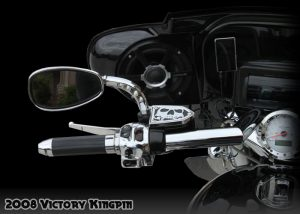 Victory Reservoir Cover 3D Skull Victory Motorcycle Parts Accessories