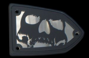 Victory Reservoir Cover 3D Skull Victory Motorcycle Accessories