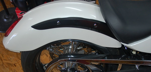 Rear Fender Strut Mount Caps Highball Victory Only