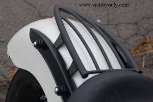 dual bungee buttons quick release rack saddlebags mounting victory motorcycle