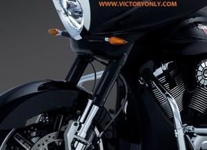Victory BLACK Upper Fork Covers XC XR HARDBALL