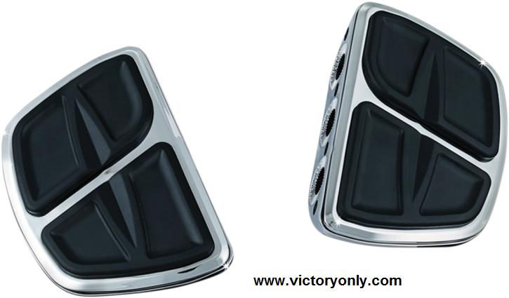 Kuryakyn Front OR Rear Kinetic Mini Floor Boards Victory Jackpot Models