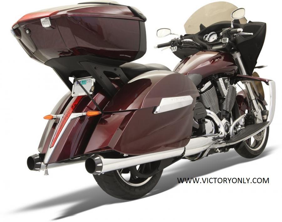 Victory Highball For Sale >> EXHAUST SLIP ON BLACK, CHROME XC XR HARDBALL