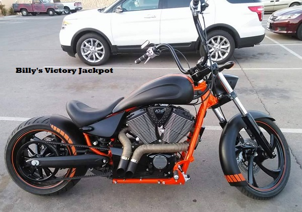Billy's Victory Jackpot conquest customs ams
