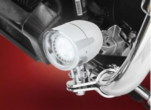DRIVING LIGHT HIGHWAY BAR MOUNT VICTORY MOTORCYCLE NEW