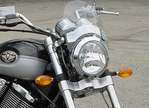 SPORT FLY WINDSHIELD VICTORY MOTORCYCLE