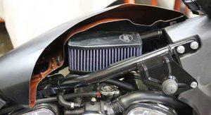 New S&S Stealth Two High-Flow Air Filters for Indian Scout and Victory Octane Models Is Increasing Air Flow By 127%