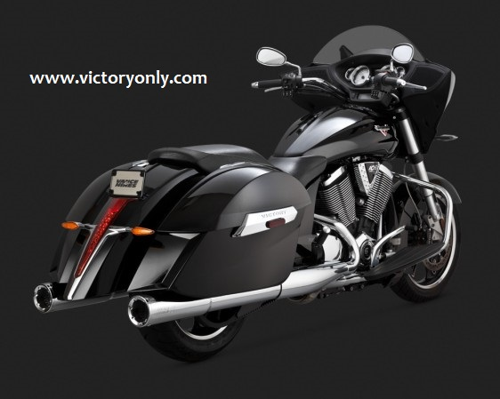 EXHAUST VANCE & HINES SLIP ON XC XR HARDBALL