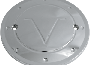 custom victory motorcycle derby cover strokers rick fairless design motorcycle chrome black