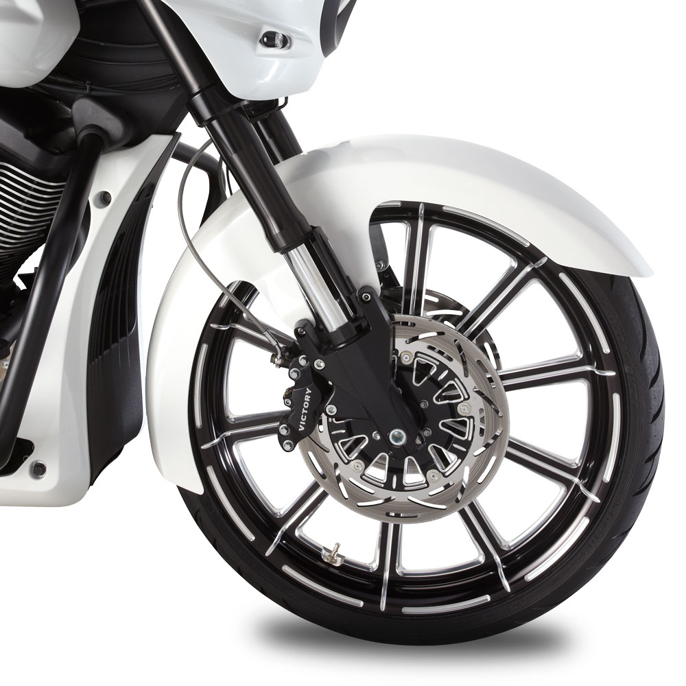 Victory Motorcycle Wheel Front Victory Motorcycle Contrast Cut By