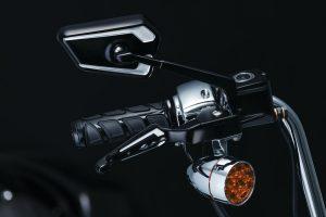 Victory motorcycle grips kinetic