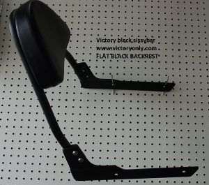 hammer backrest sissybar black jackpot victory motorcycle