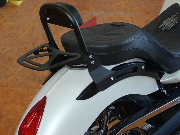 Victory Motorcycle Parts >> Victory Motorcycle Luggage Rack Vegas Kingpin Highball Black Or