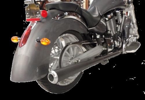 Victory Motorcycle Exhaust True Dual Cone Custom