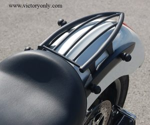 bungee button installed victory vegas motorcycle 012