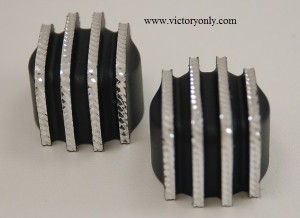 DIAMOND CUT FINNED CAM COVER VICTORY MOTORCYCLE