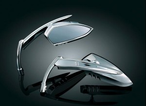 Knife shaped mirror set Victory Motorcycle