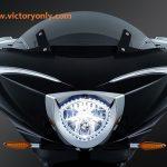 FAIRING TRIM PIECE CHROME VICTORY MOTORCYCLE XC & TOUR EYEBROWS