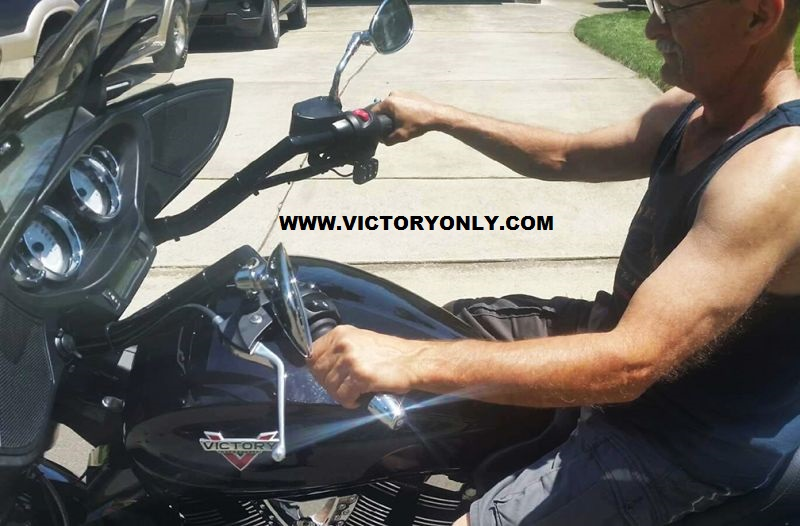 VICTORY CROSS COUNTRY VERTICALLY CHALLENGED PLUS 3 HANDLEBARS