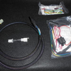 custom wiring harness kits solidfonts new custom chrome wire plus venom bike kit wiring harness 695075