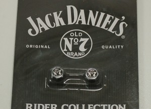 Jack Daniel's Chrome Valve Stem Covers