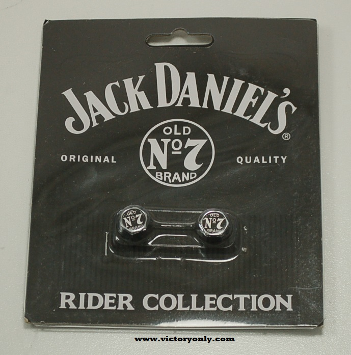 Valve Stem Covers Jack Daniel's Chrome Victory Motorcycle Parts for