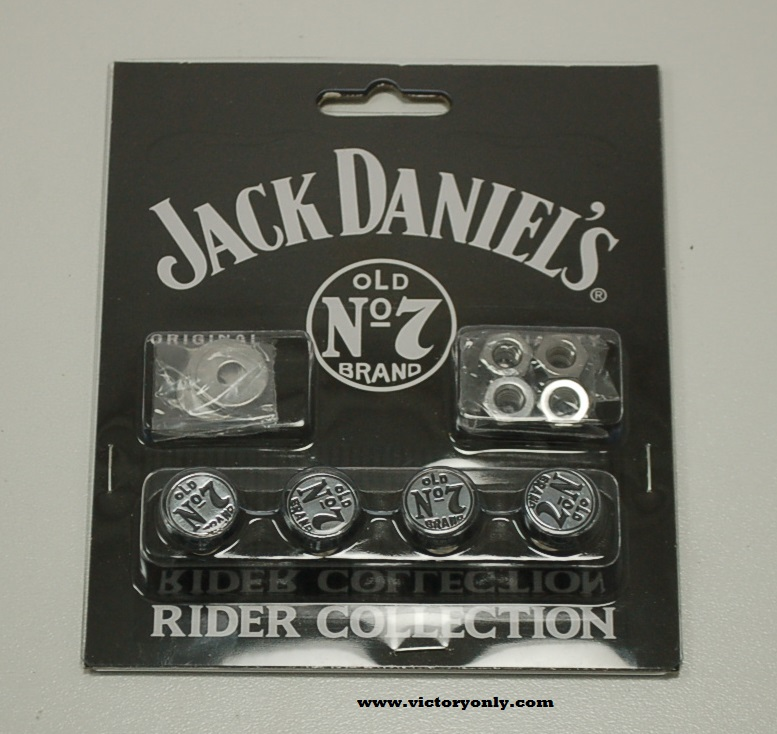 License Plate Mounting Kit Jack Daniel\'s Chrome Victory Motorcycle ...