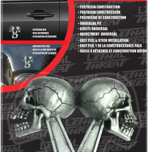 EMBLEM DECAL SKULL PISTON