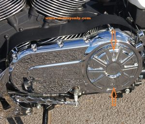 Derby Cover Bolts Chrome