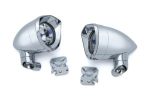Driving Lights For Victory Chrome, Black Xr, XC