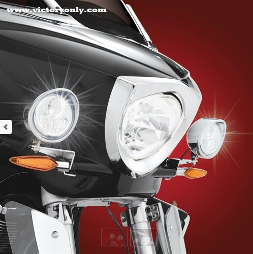 Driving Light Led Halogen Victory Cross Country Magnum