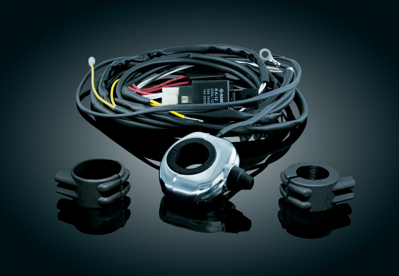Driving Light Wiring Relay Kit Bar Mount Victory Motorcycle Parts ...