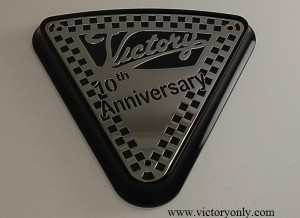 engine cover 10th anniversary Victory Motorcycle