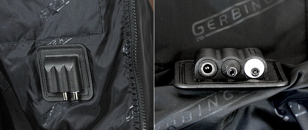 Gerbing's electric heated jacket liner features heating pads on the chest, back, collar, and sleeves. Compressible, water-repellent, durable, Thinsulate insulation, Teflon coated, wind-resistant, soft nylon shell Inside and outside pockets. Gerbing's heated motorcycle clothing is world renowned for quality, durability and will always keeps you warm. Soft micro-denier collar, form-fitting sizes snugly and easily under your outer garments. Glove plug pockets placed on sleeves secure the plugs when not in use. Power Distribution Unit eliminates dangling cords Dual 2 wiring configuration (for one user only). Lifetime warranty on heating elements incorporates Gerbing's Microwire heating technology that uses micro-sized heating fibers to surround the body with warmth. Actual Sleeve Size: With arm in riding position, measure from the back, start from the center of neck, over point of shoulder, around back of elbow and down outside of arm to the wrist. This sleeve measurement is your actual sleeve size. If your sleeve measurement falls between two sizes, then go up to the next sleeve size. •Heating pads on the chest, back, collar, and sleeves •Compressible, water-repellent, durable, Thinsulate insulation •Teflon coated, wind-resistant, soft nylon shell •Inside and outside pockets •Silky soft micro denier collar •Form-fitting patterns and sizing to fit snugly and easily under your outer garments •Glove plug pockets placed on the sleeves secure the plugs when not in use •Dual 2 wiring configuration (for one user only) •Lifetime warranty on heating elements •Incorporates Gerbing's Microwire heating technology that uses micro-sized heating fibers to surround the body with warmth. Gerbing Heated Jacket Liner Specifications: •Heat Source: Microwire Heat Technoogy •Power Source: 12-V DC •6.4 amps •77 watts •Surface Temp: Approx. 135 F